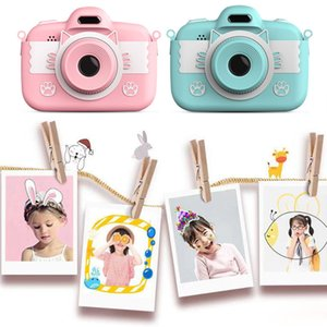 2020 c7 mini caméra enfants caméra enfants caméra 3,0 '' Full HD Digital Camera avec des jouets intellectuels de silicone pour enfants par bateau gratuit