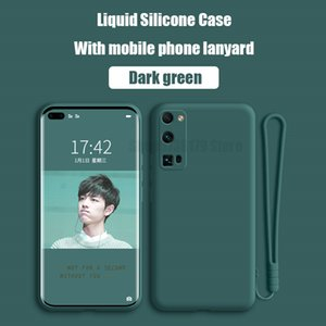 For Huawei Honor View 20 30 V30 Pro Plus Case New Liquid Silicon Soft Camera Protection Cover For Honor 30 Pro Plus Phone Cases
