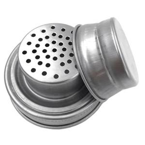 MASON JAR SHAKER LIDS Copertura in acciaio inox per la bocca normale Mason Canning Jars Rust Proof Cocktail Shaker Dry Surb cocktail 70mm GWC4423