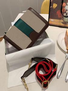 حار مصمم فاخر المرأة حقائب الكتف حقائب النساء حقيبة crossbody عالية الجودة جلد طبيعي عارضة البرية انفصال حزام الكتف