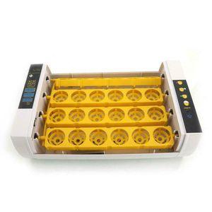 24 달걀 incubator 해치 셔닝 터닝 온도 Qylmih Packing2010