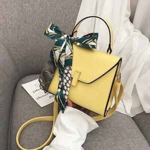 Сумочка Женский Однодневное Сумка для женщин Personality шарф площади Sling Bag Simple Коммуникатор