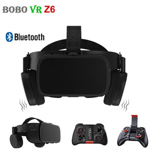 BOBO VR Glasses Virtual Reality for Smartphone Black Google Cardboard VR Headset Helmet Stereo BOBOVR for Android 4.7-6.2' LJ200919
