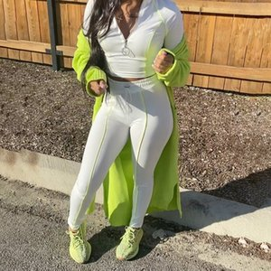 GXQIL Winter Gym Long Mouw Yoga Pack Fitness 2020 Ropa de entrenamiento de ajuste seco para mujeres Ensemble Deportes Mujer