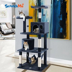 Scratchme 60 '' Cat Tree Tower Condo Furniture Schoot Post Pet Kitten Play Bed