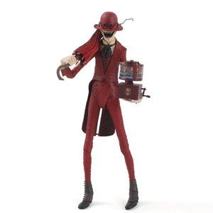 20 cm Conjuring 2 Action Figure Crooked Man with Umbrella Music Box Joints Moveable Model Toys