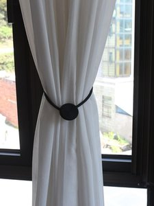 1pc Forte Tieback Magnetic Tiebacks Tenda Della Casa Decorazione Fibbia Clip Accessorio Fibbia Cortina per tende Holder Holdback Bandaggio H JLLCBG