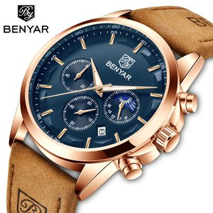 BENYAR Quartz men's watches sport business watch men top brand luxury wristwacth men military waterproof clock Relogio Masculino 201120