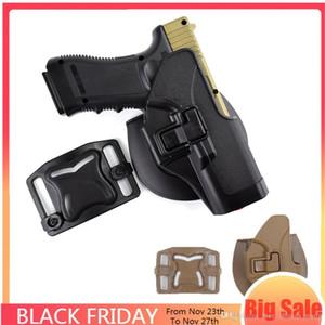 도매 Safariland 전술 폴리 우레탄 Glockest 벨트 홀스터 권총 허리 Holster G17 19 22 23 23 32 Airsoft Gun Holster Universal Holst