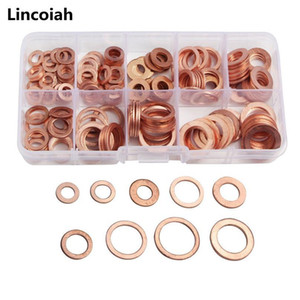 200pcs Copper Sealing Solid Gasket Washer Sump Plug Oil For Boat Crush Flat Seal Ring Tool Hardware Accessorie jllXbp