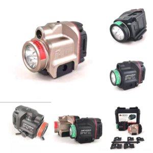 4JEJI TORCH LEDER LED FL LASERSHIGHTS TACTICA TLR-8 Linterna Modelo eléctrico C8 CREE XM LEAD T6 No.Mini Tactical FLAS L Lámpara
