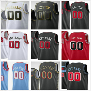 Custom Screen Printed Zach 8 LaVine 24 Markkanen Coby 0 White Wendell 34 Carter Jr Patrick 9 Williams Man Women Kids Youth Basketball Jersey
