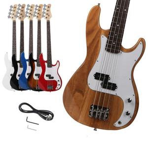 Новые 4 строки электрические бас-гитара правша изысканный жгучий огонь стиль спектакль хобби корабль из США
