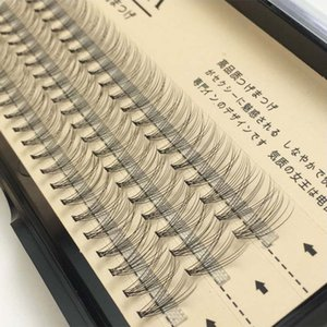 10D Mink Individual False Eyelashes 0.07mm C Handmade Soft Wispy Flare Individual Knot Free Eye Lashes Extension C Curl