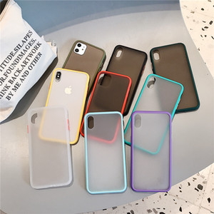 Matte Translucent Bumper For iPhone 12 Case For iPhone 12 mini SE 2020 11 Pro XS XR 7 8 Shockproof Hard Phone Case For iPhone 12