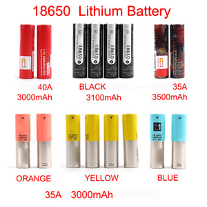 Rechargeable battery New Arrival 18650 Battery 3000mAh-3500mAh for Mix brand BLACK lithium battery Fast shipping By FedEx