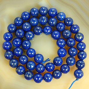 Natural Stone Beads Lapis Lazuli Stone 4 6 8 10 12 14mm Round Beads For Jeweley Making Diy Bracelet Necklace Jewellery 15 wmtToQ bdesybag