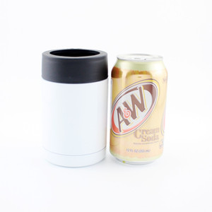 12oz new Amazon hot sale sublimation blank cold storage stainless steel beer bottle cold storage can cola airless bottle