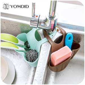 Multifunctional Kitchen Hanging Basket Kitchen Gadgets Folding Bathroom Storage Box Soap Dish Storage Bag Kitchen Tools sqccKR bdenet