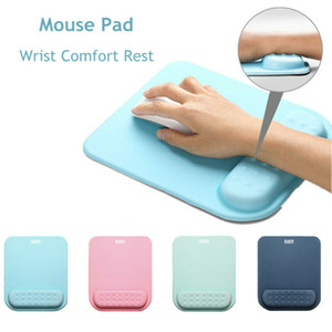 Computer Desktop Laptop Mouse Pad With Cushion Wrist Rest Support mouse mat