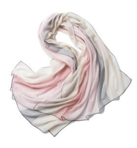 100% Merino шерсть шарф шал женские 2020 новая пряжа тонкий стиль фабрики прямой мягкий теплый элегантный солнцезащитный шарф