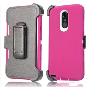 For iPhone 12 11 pro XS Max 7 8 Plus 6s Defender Case Armor Holster Cover with Belt Clip