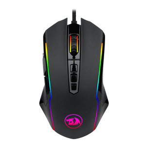 Redragon Gaming Mouse M910 Ranger Chroma RGB الخلفية الفئران Professional Gamer للكمبيوتر