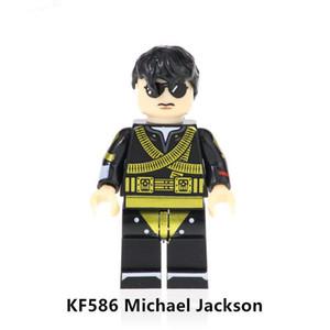 2020 Nuovi arrivi Original Anime Minifigure Assemblare Building Block Singer Michael Jackson Action Figure Toy for Kid