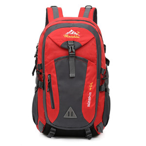 40L Unisex wasserdichte Männer Rucksack Reiseverpackung Sporttasche Pack im Freien Bergsteigen Wandern Klettern Camping Rucksack für männliche C1223
