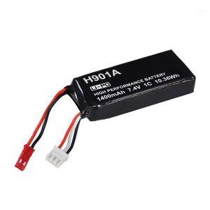 Şarj Edilebilir Lipo Pil 7.4 V 1400 mAh Lipo Pil Hubsan H501S H502S H109S H901A Verici1