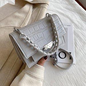 totes Stone HBP Bag Woman New Designer Purses Shoulder Handbags Bag Chain Texture Crossbody Quality Bag Design Fashion Pattern Sdrgt