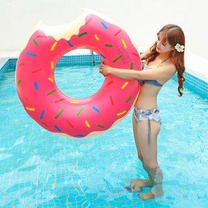 Bambini 60 cm Gonfiabile Donut Donut Anello di sicurezza Beach Toy Piscina Acqua Giocattoli galleggianti Z1202