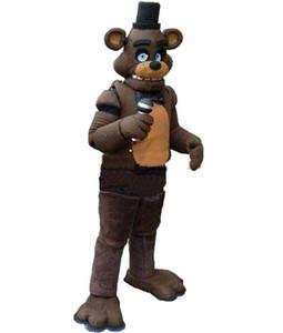 2019 factory hot new Five Nights at Freddy's FNAF Toy Creepy Freddy Fazbear Mascot Costumes Cartoon Character Adult Sz