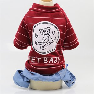 Kafes Köpek Giysileri Dört Bacaklar Sapanlar Kovboy Giyim Moda Popüler Habiliment Sıcak Satış ile Çeşitli Desen 11 5gg J1