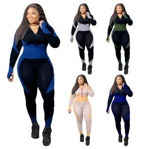 Womens Designer Trainingsanzüge Sportanzug Tägliche Tops und Hosen Dame Herbst Winter Frauen Kleidung 2 Stück Outfits Yoga Sport Sweatsuit