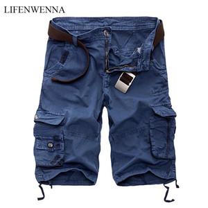Bifeenwenna Mens Cargo Shorts 2021 новая армия камуфляж тактические шорты мужские хлопковые свободные работы случайные короткие штаны