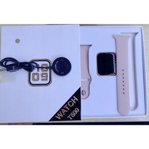 T500 Bluetooth Call Polso Smart Watch Voto cardiaco Rate Monitor Fitness Track Sleep Tracker Braccialetto intelligente per Huawei Xiaomi Samsung Orologi