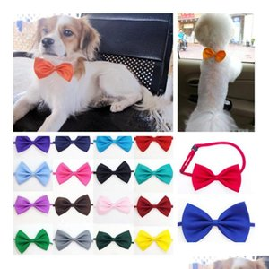 new dog tie neck ties dog for christmas festival party cat pet tie headdress adjustable bow ties tie accessories t2i5255 1i4bU