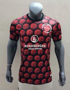 2020 2021 Nurnberg Футбол Джерси Рождественская версия 1.FC Nürnberg Футбольные футболки 120-летие Schaffler Hack Lohkemper Доверин Униформа