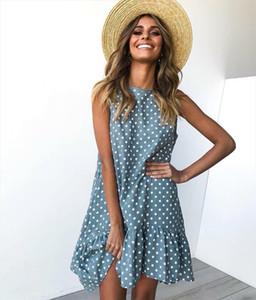 Polka Dot Dress Womens Vestidos Plus Size Party Summer Dresses Streetwear Sexy Club Robe Femme Casual Beach Dress Women vestido