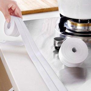Banyo Duş Lavabo Banyo Sızdırmazlık Şerit Bant PVC Kendinden Yapışkanlı Su Geçirmez Duvar Sticker Banyo Mutfak Kiremit Çıkartmalar1