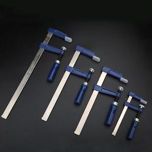 Frizione f morsetti per la barra di servizio pesanti morsetto rapido a cricchetto a cricchetto a ratiglie Squeeze strumento strumento di lavorazione del legno morsetti strumento per la lavorazione del legno clip di morsetto