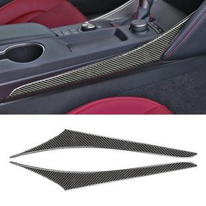 Strip décoratif latéral de position de la fibre de carbone de carbone pour LEXUS IS250 2013- Lecteur de gauche