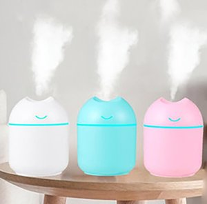 Air Humidifiers USB Ultrasonic Mini Scented Aroma Essential Oil Diffuser Creative Home Office Humidifier Desktop Portable Humidifier
