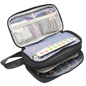 Essential Oil Carrying Case-Holds 12 Bottles 5ml-15ml Also Fits for Roller Bottles Essential Oil Storage Bag for