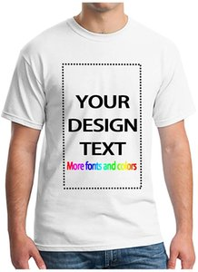 Mens Ultra Soft Add Your Text for Men Women Unisex Cotton Graphic Design Custom T-Shirt Man Fashion Novel Casual Sportswear