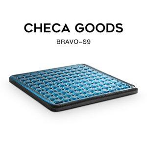 Checa Ürünler Jel Geliştirilmiş ICESSSE Koltuk Yastık Kaymaz Ortopedik Jel Bellek Köpük Kocası Kuyruk Kemsisi Ağrı Sandalye için Coccyx Yastıkları Q1125