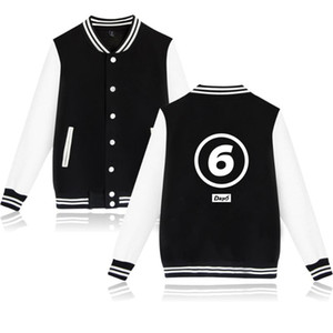 DAY6 kpop fashion sport hip hop men women Baseball Jacket coats casual Long Sleeve harajuku Hoodies Jackets Sweatshirts tops 4XL