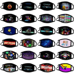 Bizimle Grewmet Oyunu Karışık Renkler Oyunu Karikatür Maske Oyunları Tasarımcı Moda Facemasks Baskılı Maskeleri Custom Made Yetişkin Çocuk Pamuk Maske