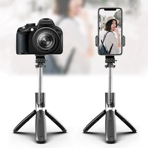 Mini Bluetooth Selfie Stick for Mobile Phone Monopod Tripod Holder for Gopro Action Cameras Stick Stand Pod Tripe Mount Clip Y1128